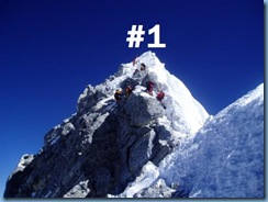 Their are multiple ways to get there, but only one top. (Photo Sourse: www.traditionalmountaineering.org)