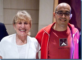 Dave McClure and Francine Hardaway - Geeks On A Plane - Shanghai - China ( photo by Kris Krug www.staticphotography.com)